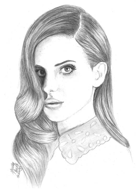 Lana Del Rey. by DeadlyAngel-Drawings on DeviantArt