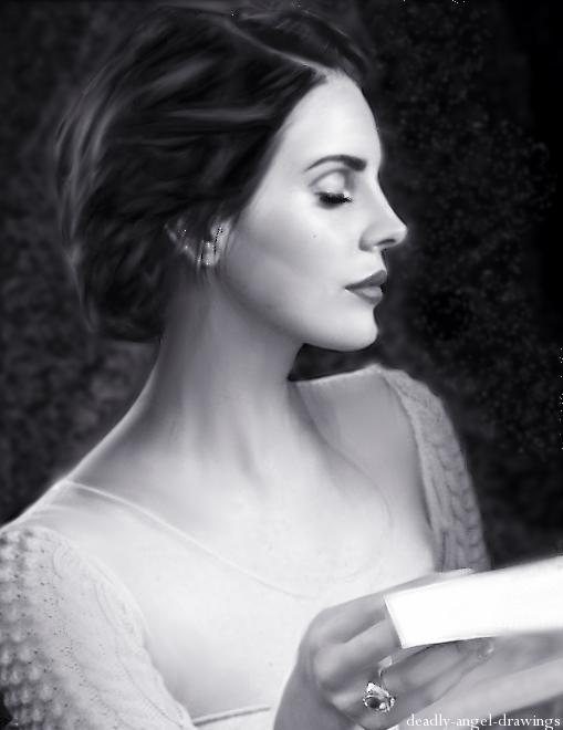 Beauty Queen - Lana Del Rey by DeadlyAngel-Drawings