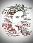 Tomo Milicevic in words given to me by Echelon by DeadlyAngel-Drawings