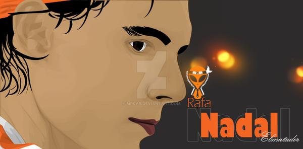 Rafa Nadal by Mr0AR