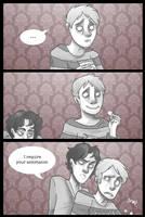 Food is forbidden. by Tweekling