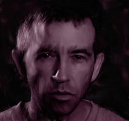 male portrait clone painting 01 by coreyh2