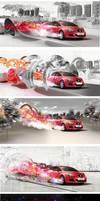 test ideas car print-ad