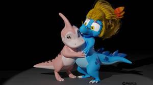 AT: Dino Hug by Moco13