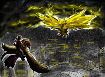Zapdos! by MarcoH88