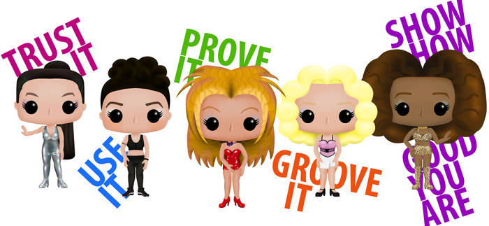 Who Do You Think You Are - Spice Girls Funko Pop!