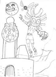 Skull kid by scimoc