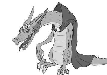 Dragon priest by scimoc