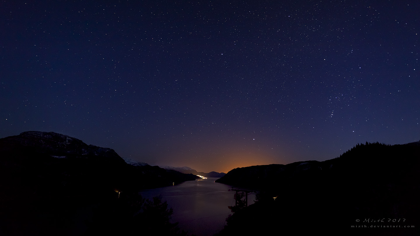 The Glow of Stavanger by Mizth