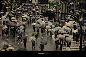 Shibuya by matmoon