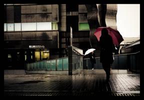 Umbrellas - 2 by matmoon