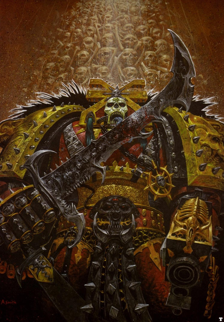 The blood god by Lord-Macragge on deviantART