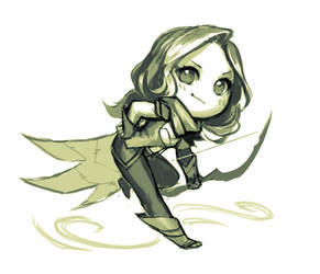 chibi windrunner by justduet