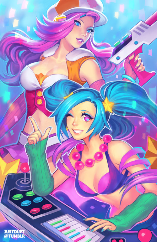 arcade duo by justduet