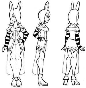 Modelsheet- Alice