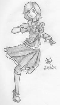 Concept sketch- Dorothy Gale