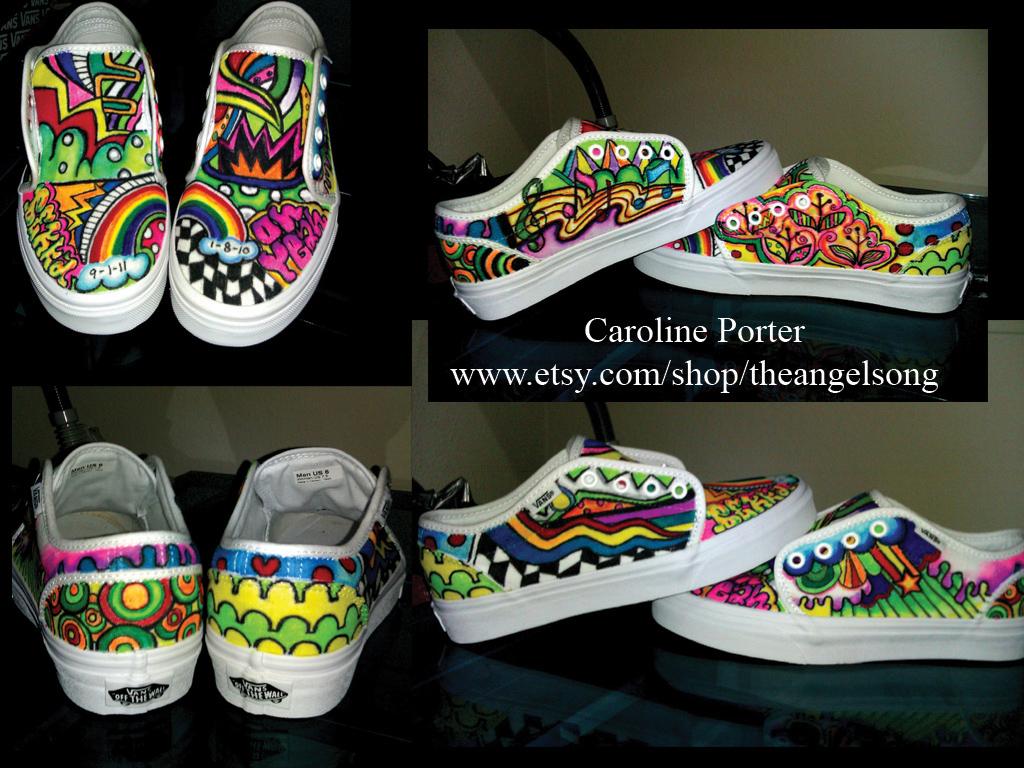 Custom VANS By Theangelsong