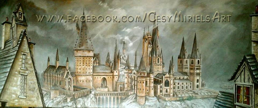 Hogwards by icy-maiden