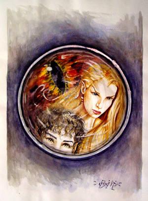 Galadriel's mirror by icy-maiden