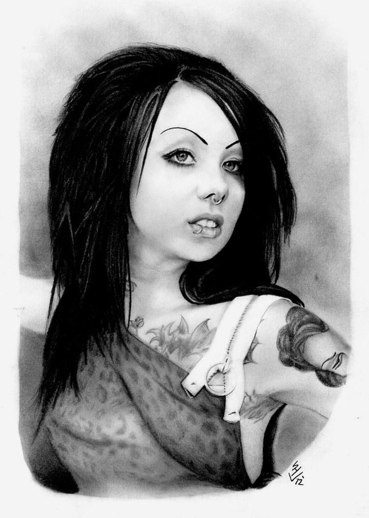 Megan Massacre Hair Black