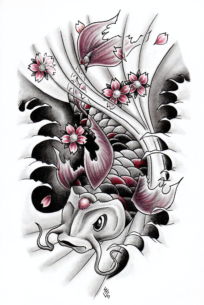 Koi favourites by artdarkside on deviantart for Koi fish artwork
