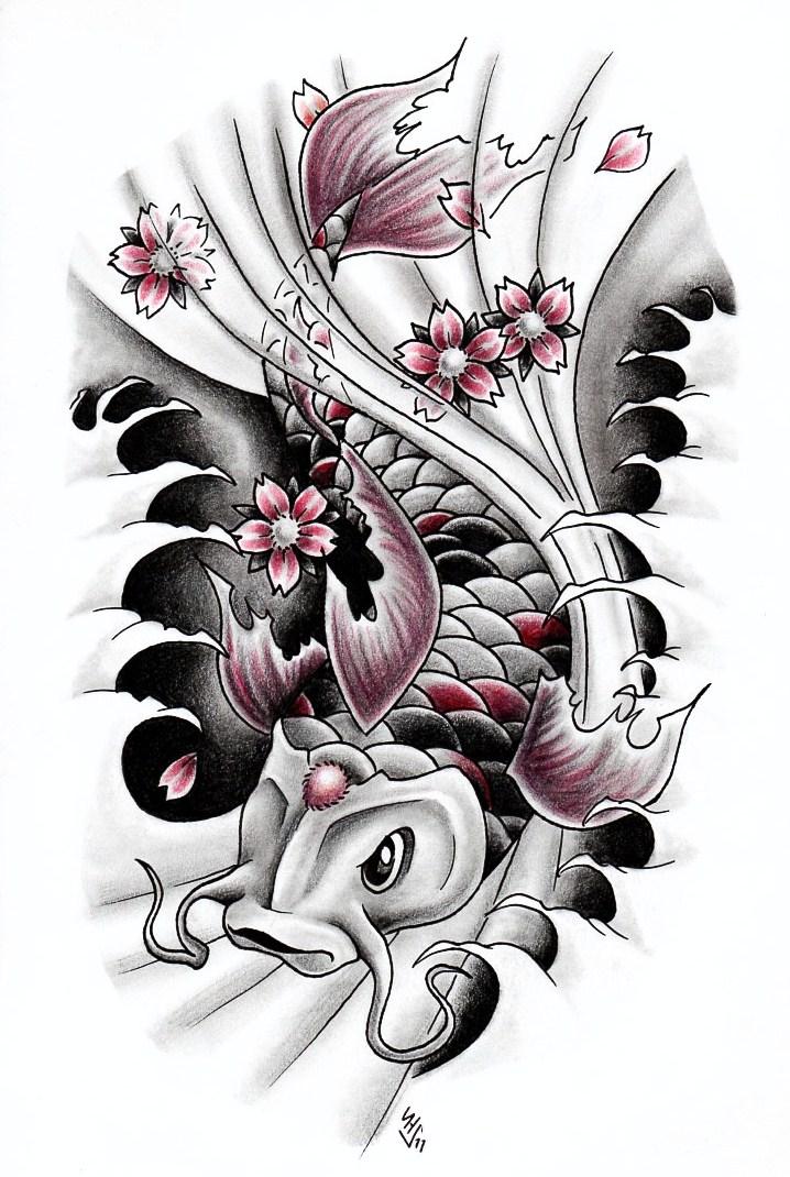Koi fish 3 by Hamdoggz on DeviantArt