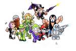 Mini Gotham Villains !