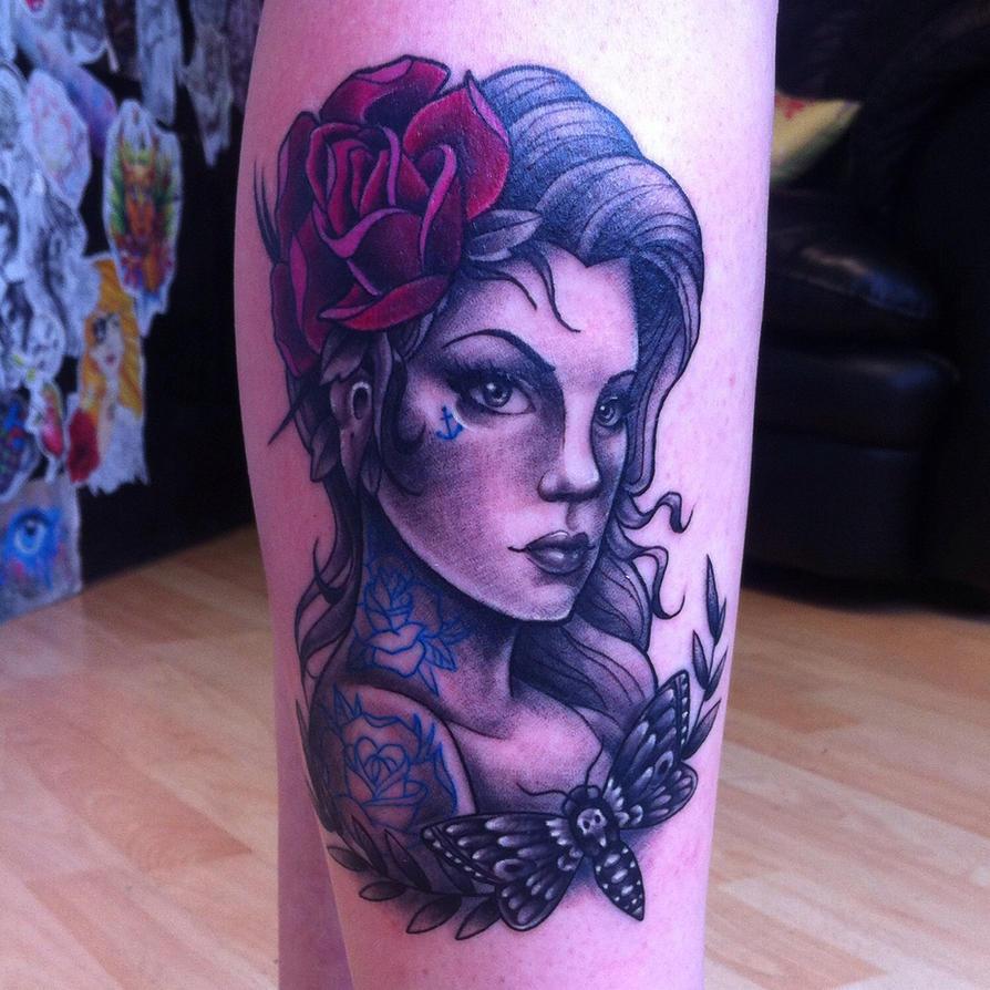 Lady Tattoo by Hamdoggz
