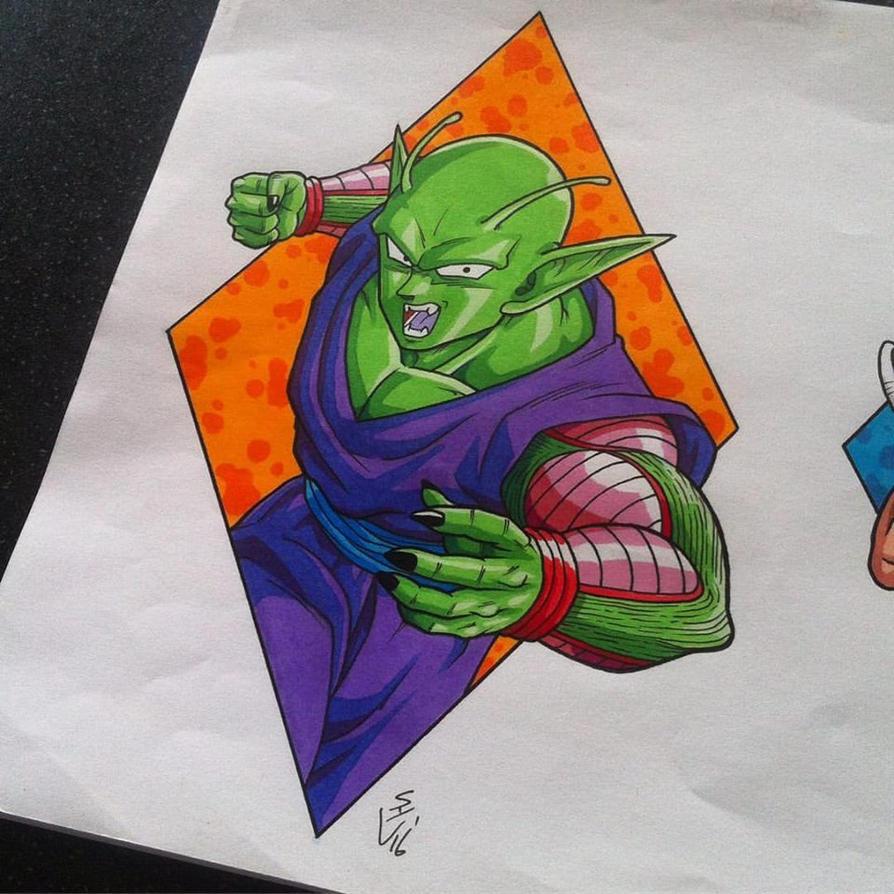 Piccolo Tattoo Design by Hamdoggz on DeviantArt