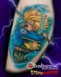Future Trunks Tattoo