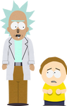 South Park'd Rick and Morty V2