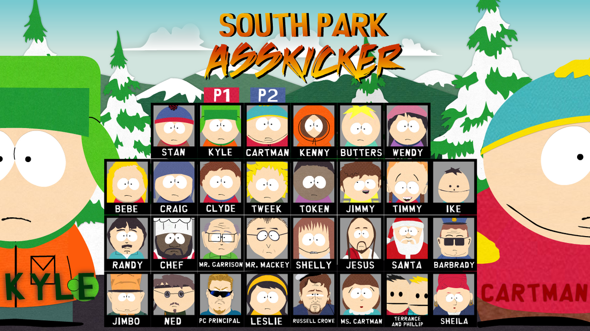 south park games online fighting
