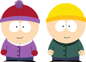 South Park: Proto-Stan and Kyle by Lolwutburger