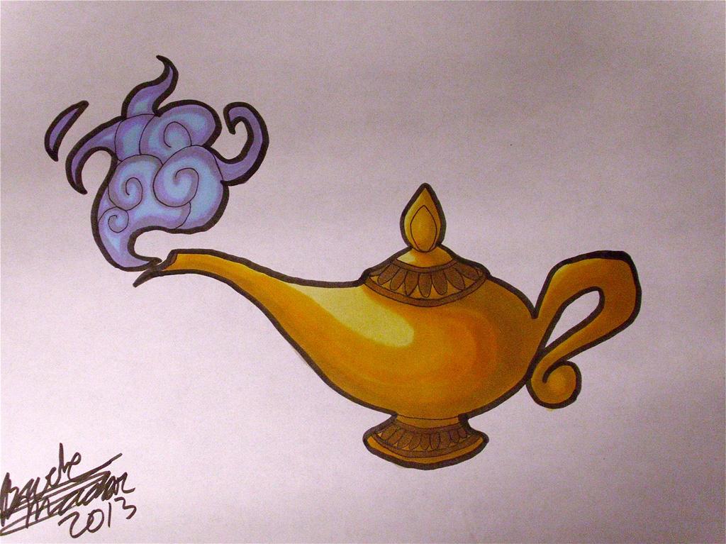 Elegant Commission Aladdinu0027s Lamp By SilverAruka ...