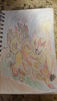 sunrise wolf