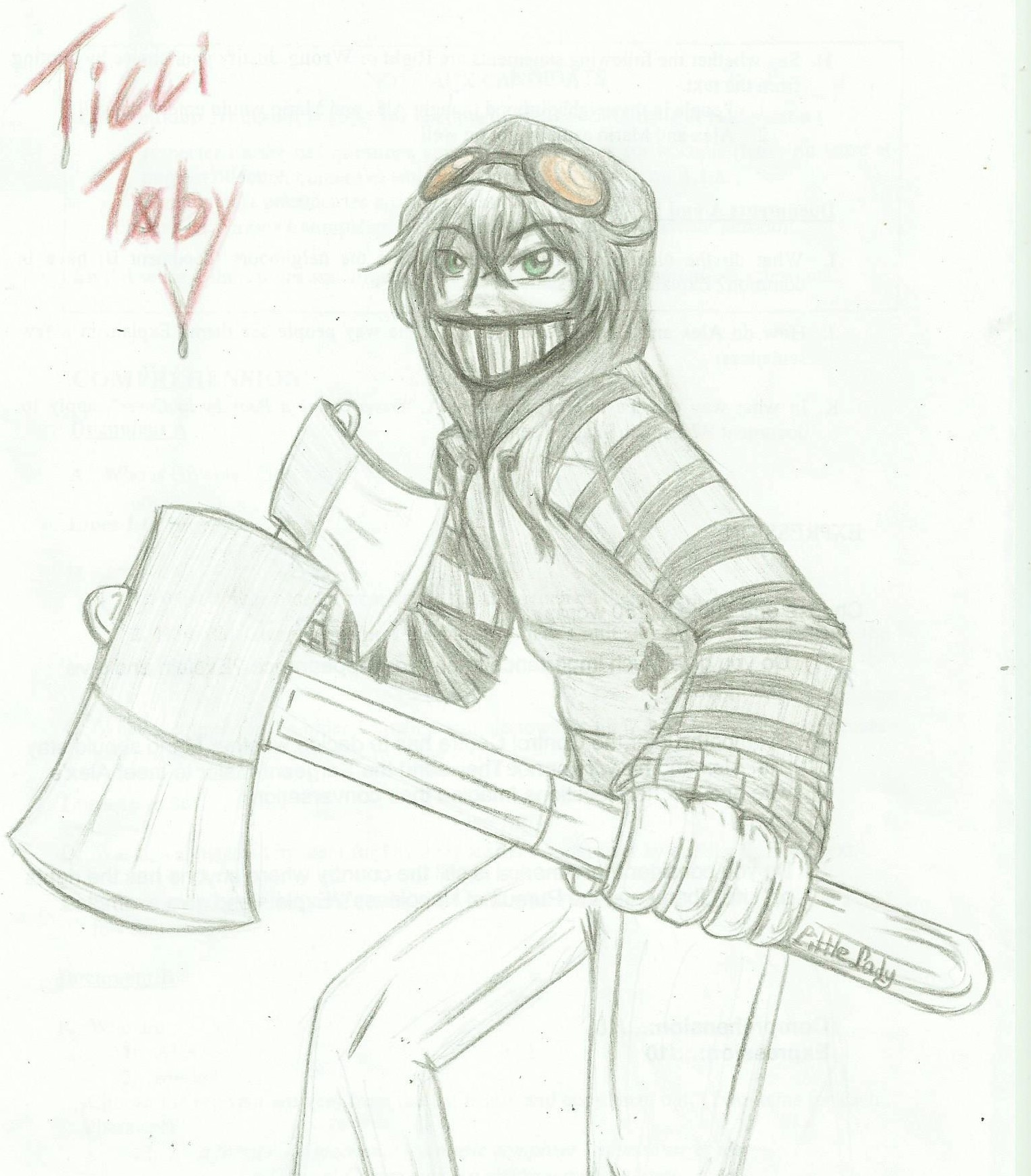 A Ticci Toby by me by ALittleLady