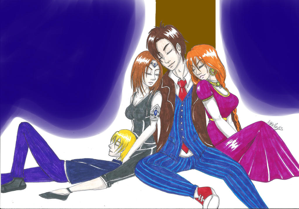Sleeping friendship - Request (Doctor Who/OCs) by ALittleLady