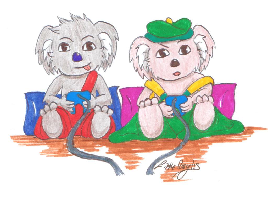 Video Game - Blinky Bill, Koala Splodge (Request) by ALittleLady