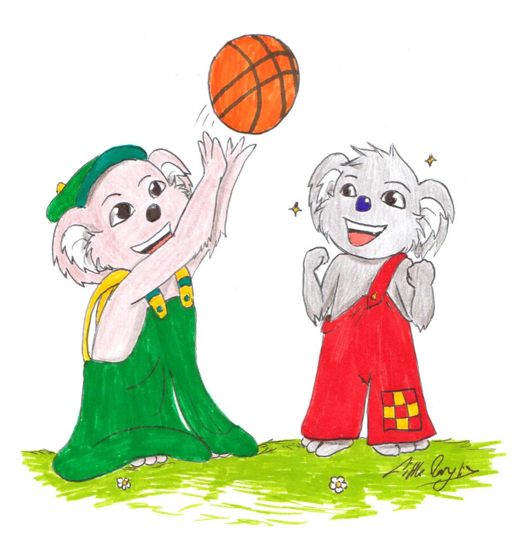 Basket - Blinky Bill, Koala Splodge (Request) by ALittleLady