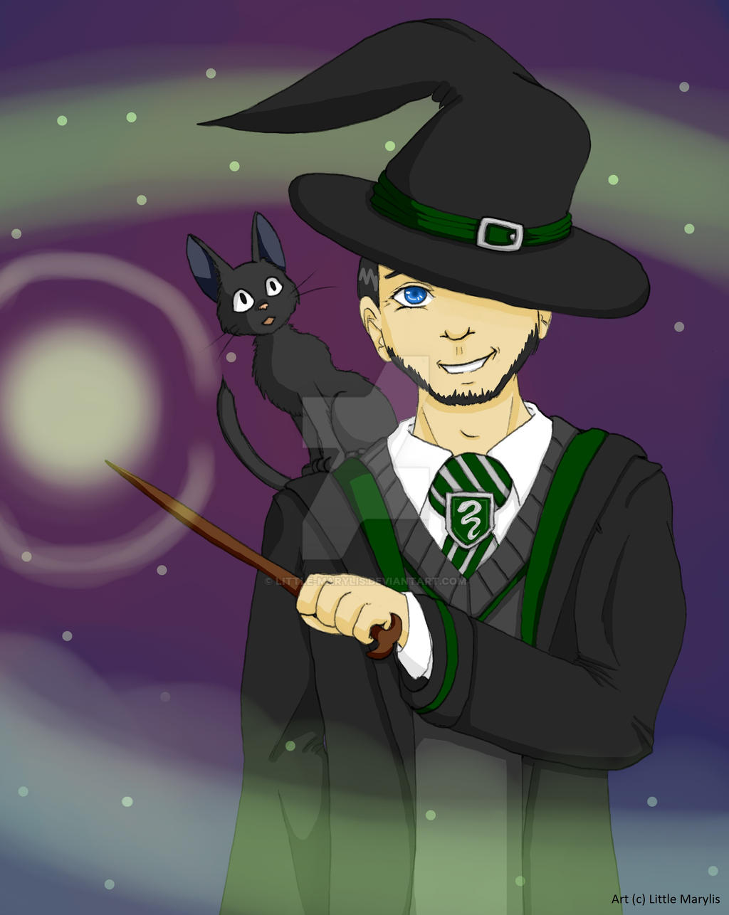 [GIFT] Potterhead Jonathan by ALittleLady
