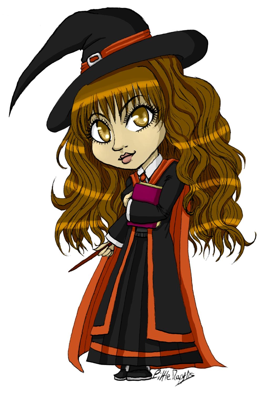 Hermione - Magic Book [Chibi] by ALittleLady