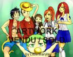 {CM} Happy Manga Fan Family by Little-Marylis