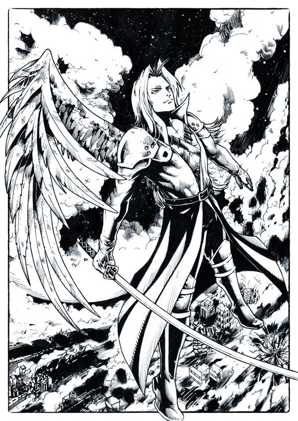 Sephiroth by abe7280