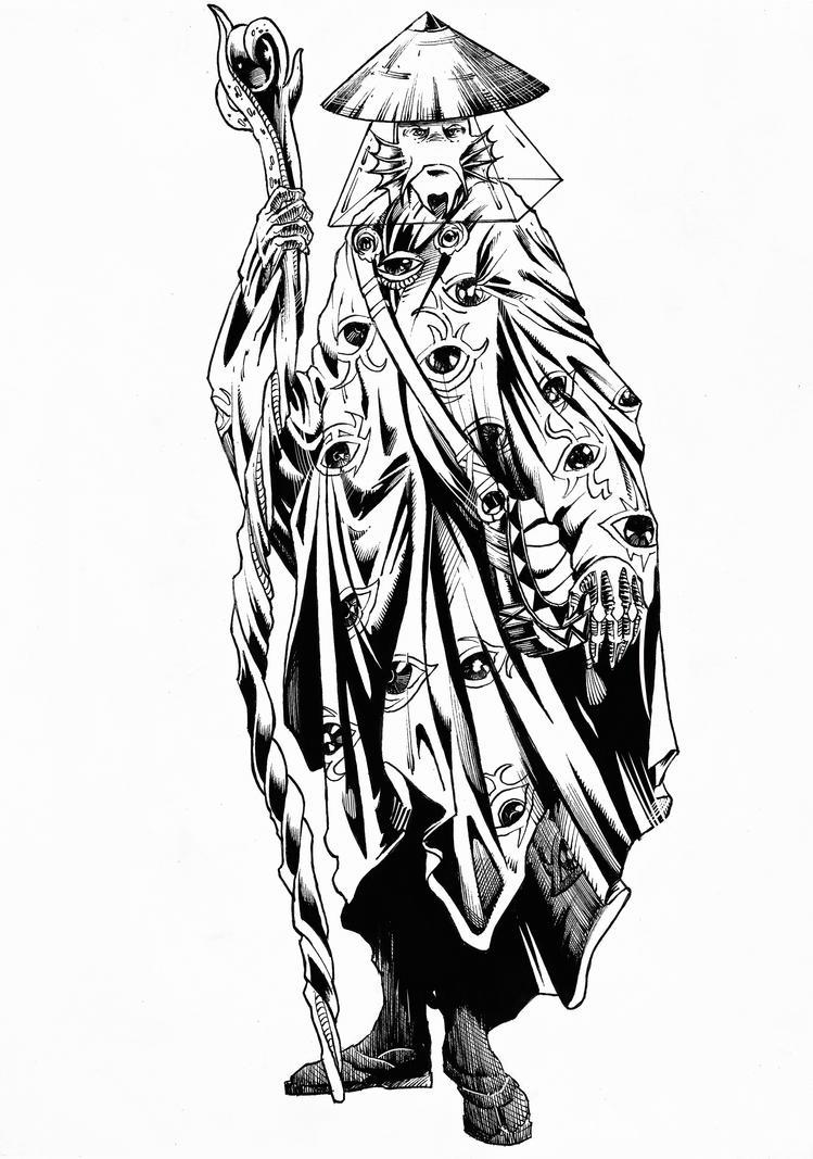 Aphomas Warlock by abe7280