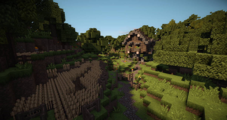 Minecraft Little Farm by AziasCreations