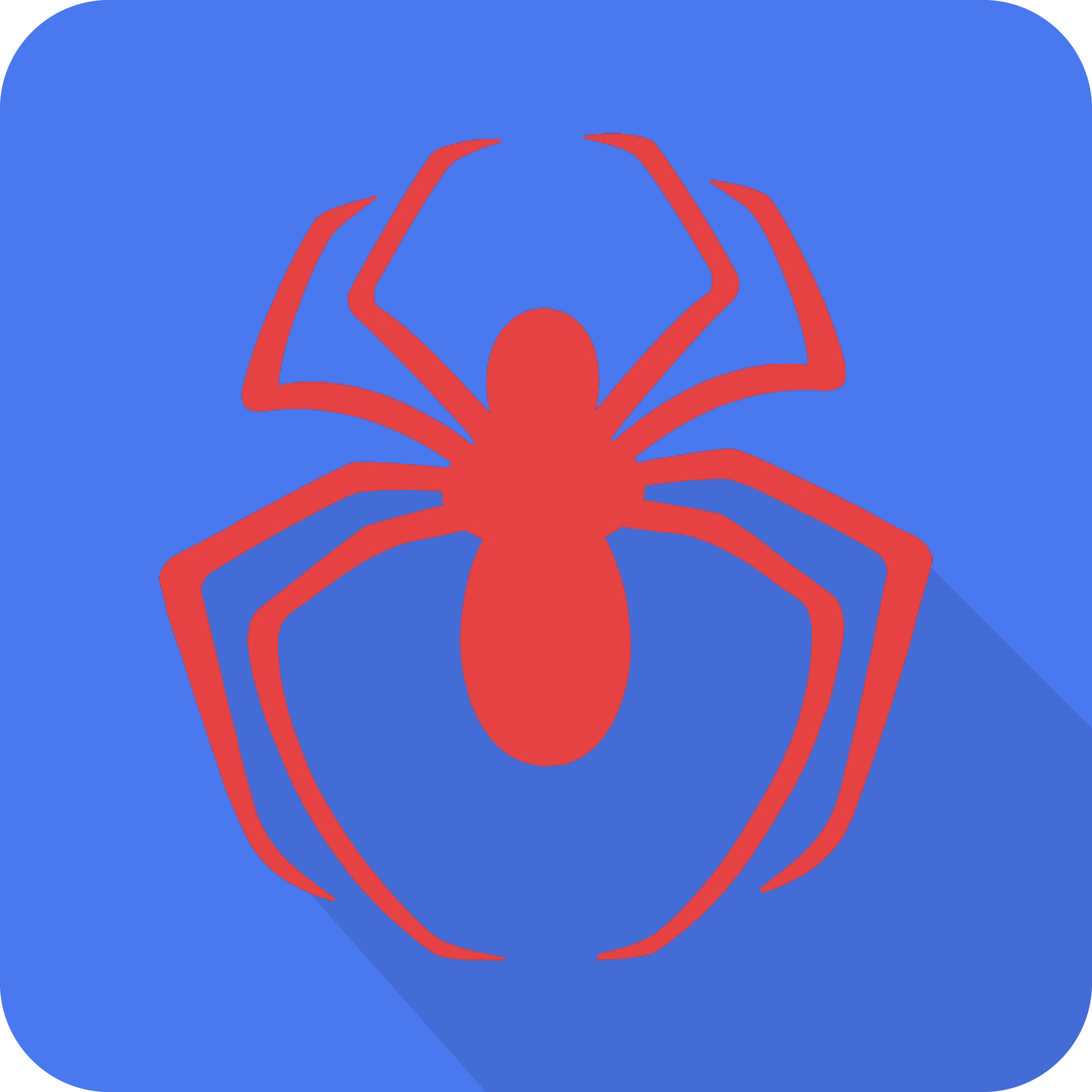 Spider-Man Material Design Logo by XxHarutxX on DeviantArt