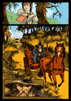 The lord Of the Ring pag. 3 by kirocomic