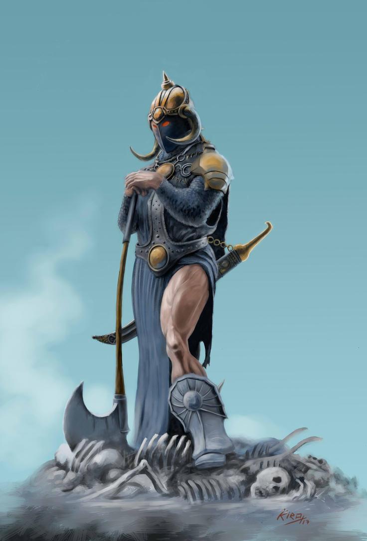 Warrior by kirocomic