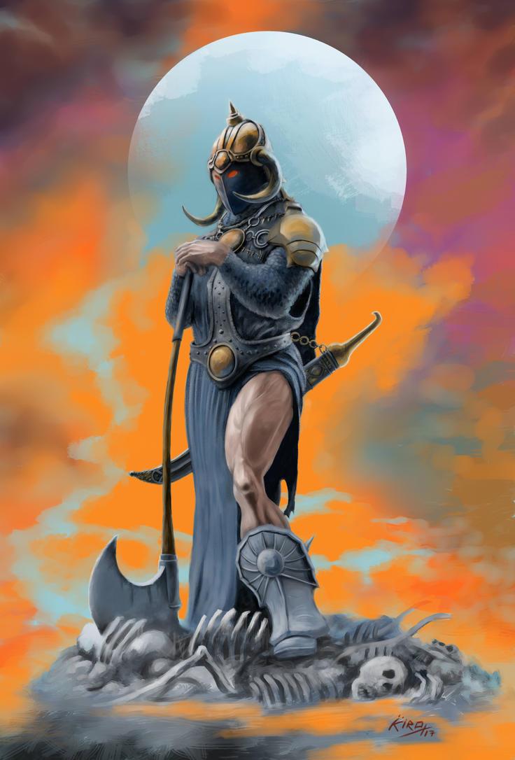Warrior 2 by kirocomic