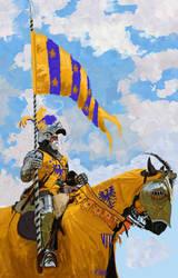 Warrior Auriazul by kirocomic
